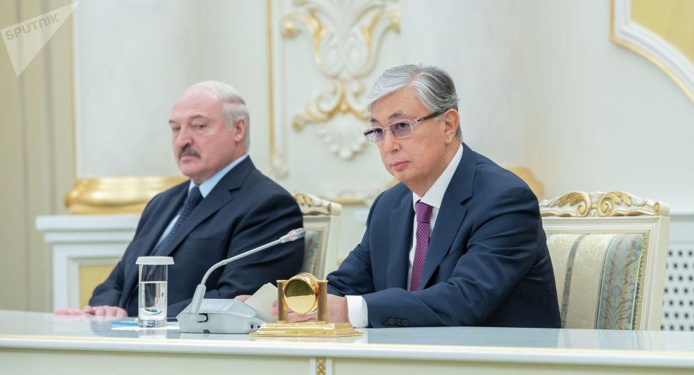 Қасым-Жомарт Тоқаев пен Александр Лукашенко