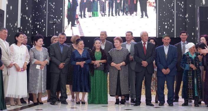 Гости на свадьбе Мисс Астаны Еркеназ Сейфуллы