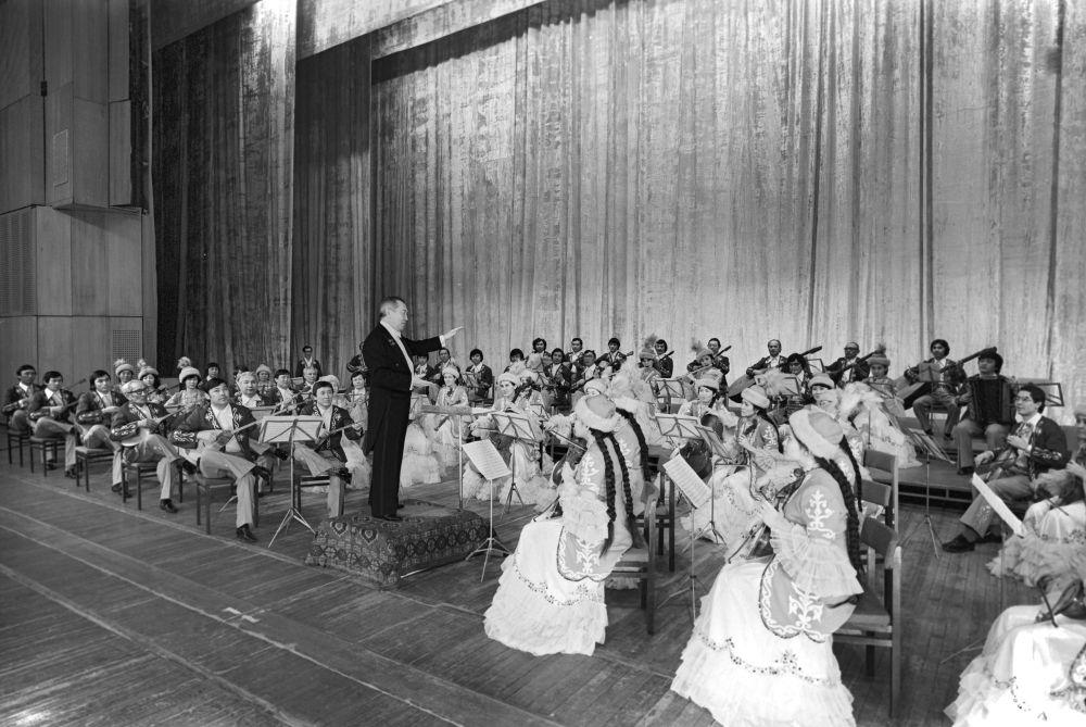 Казахский государственный оркестр народных инструментов имени Курмангазы