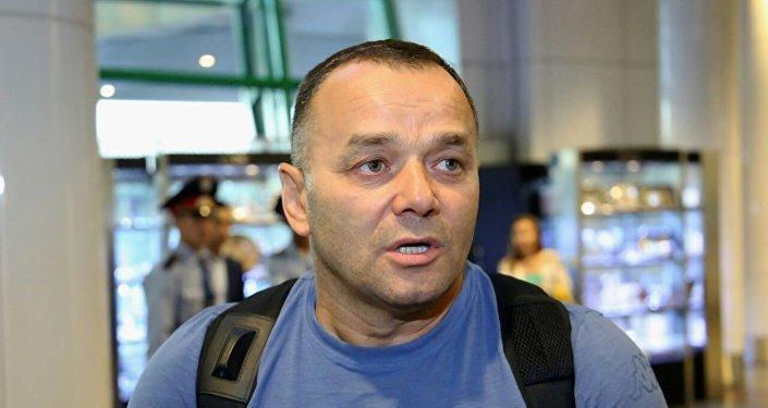Главный тренер сборной Федерации ММА Казахстана Баян Жангалов