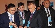 Казахстанская делегация во главе с главой Центризбиркома РК Бериком Имашевым