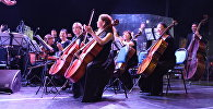 Симфонический оркестр госфилармонии Астаны под управлением Берика Батырхана