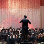 Казахский государственный академический оркестр народных инструментов имени Курмангазы в Алматы