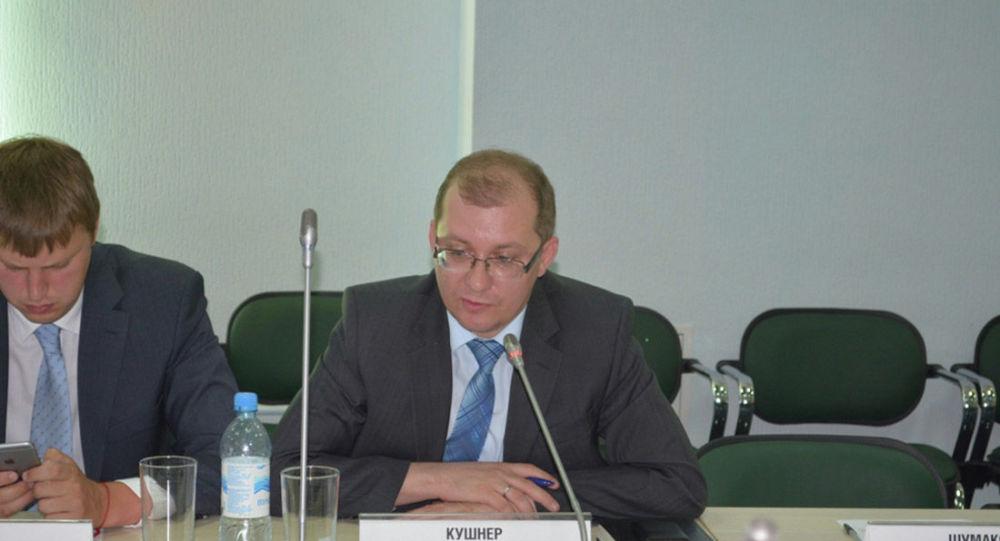 Заместитель министра экономики Омской области Денис Кушнер