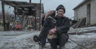 Житель Донецкой области, архивное фото