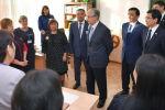 Мемлекет басшысы елордадағы №23 орта мектепке барды