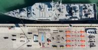 Военнослужащие ВМС приняли участие в Tetris Challenge