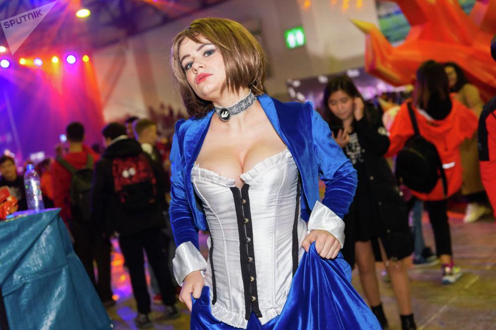 Элизабет - игровой персонаж из видеоигры BioShock Infinite