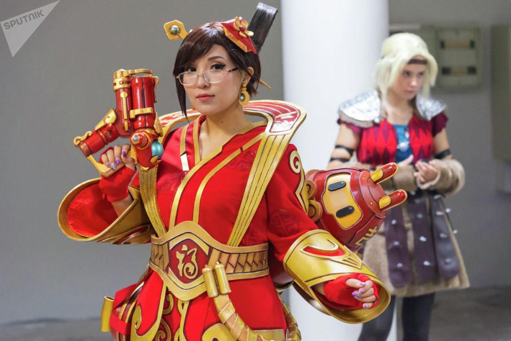 Mei из видеоигры Overwatch