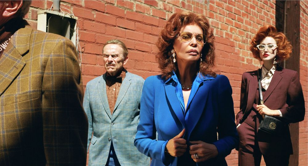 Софи Лорен сыграла роль мамочки в рекламе коллаборации модных и макаронных изделий