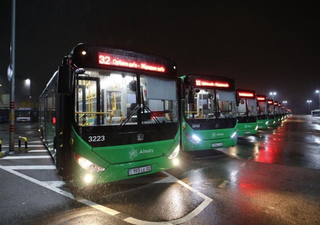 Новые автобусы запустили по маршруту №32