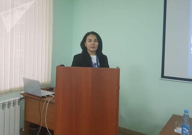 Шеф-редактор Sputnik Казахстан Динара Досмухаметова на Форуме молодежи России и Казахстана