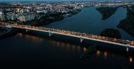 Река Иртыш в Омске, архивное фото