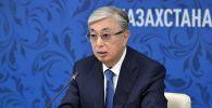Президент Казахстана Касым-Жомарт Токаев на форуме межрегионального сотрудничества России и Казахстана в Омске