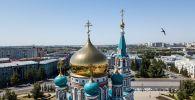 Виды города Омск, архивное фото