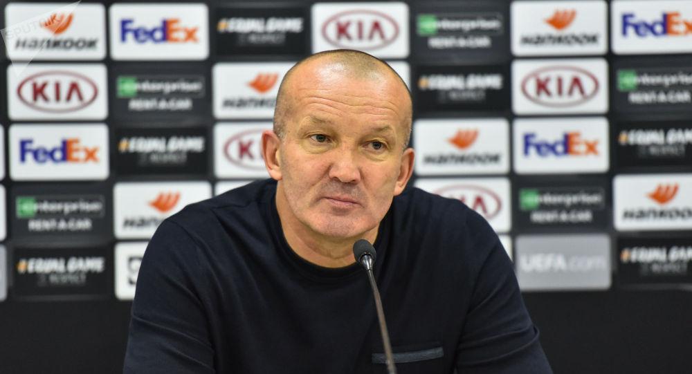 Тренер ФК Астана Роман Григорчук