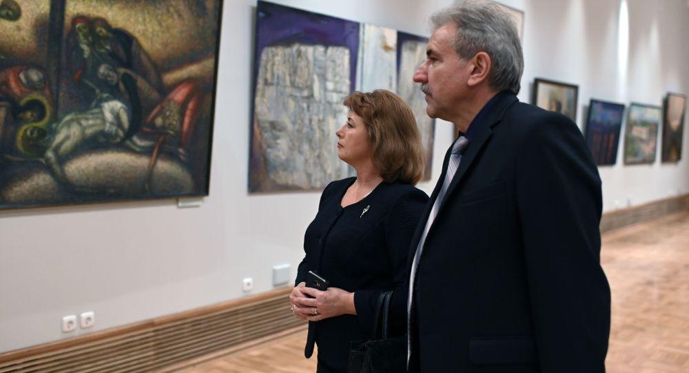 Первые посетили Центра Эрмитаж  Сибирь, открывшегося  в Омске