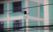 Лампочка, электричество