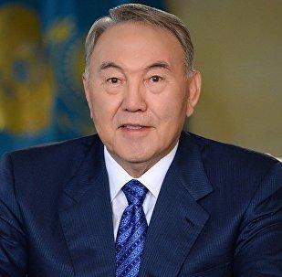 Қазақстан президенті Нұрсұлтан Назарбаев. Архивтегі сурет