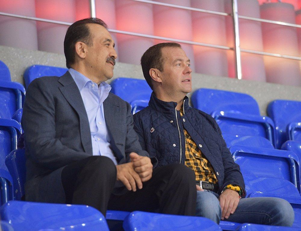 Рабочая поездка премьер-министра РФ Д.Медведева в Краснодарский край