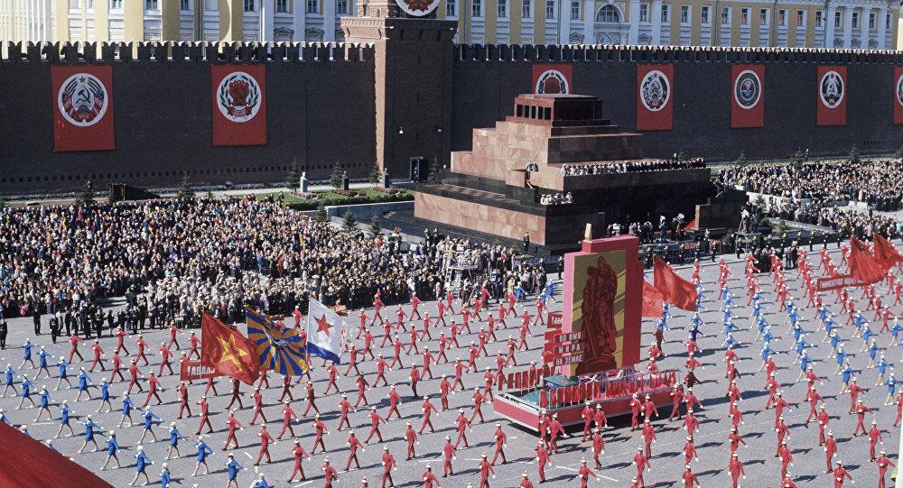 1 мая на Красной площади. Архивное фото