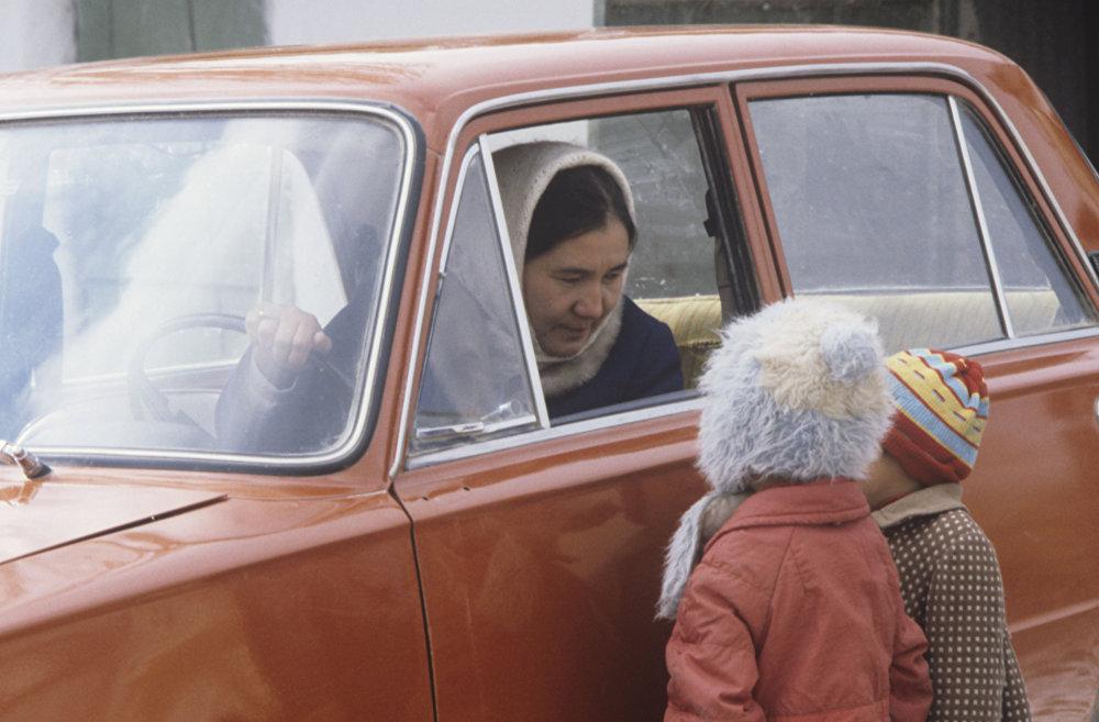 Совхоз Теликоль в Казастане