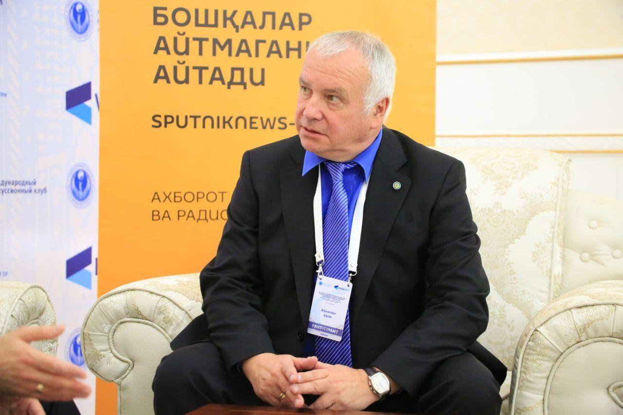 Научный директор Германо-российского форума Александр Рар