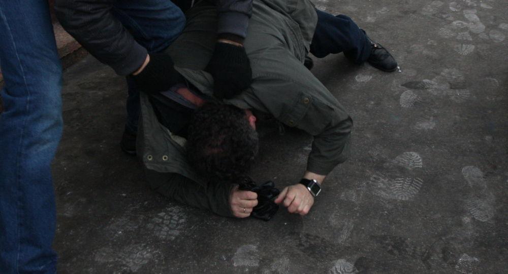 Архивное фото драки