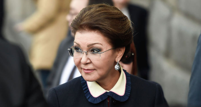 Спикер сената Казахстана Дарига Назарбаева в столице Армении с официальным визитом, архивное фото