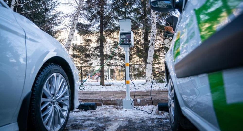 Электроколонки для подогрева автомобилей