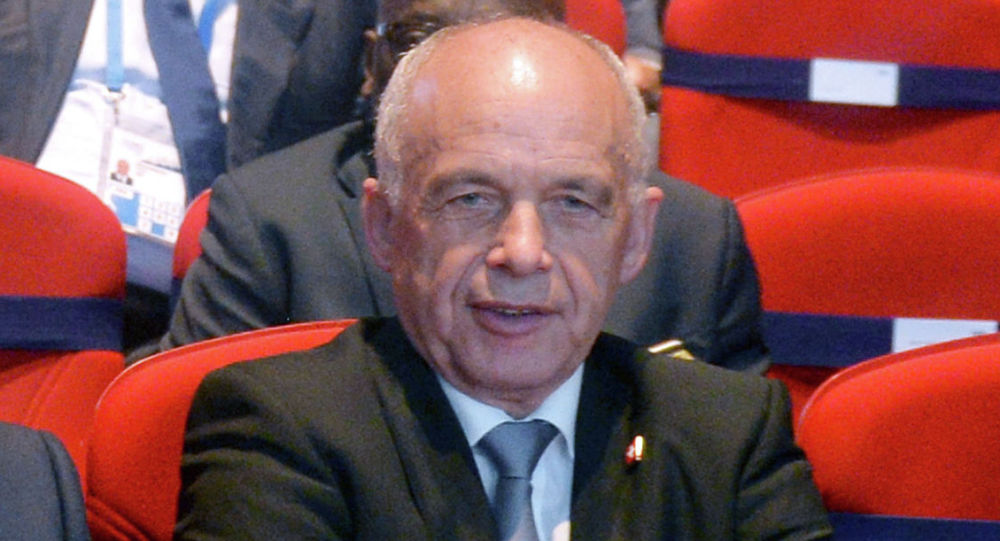 Президент Швейцарии Ули Маурер