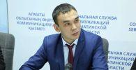 Руководитель управления департамента Минсельхоза Ерлан Ильясов