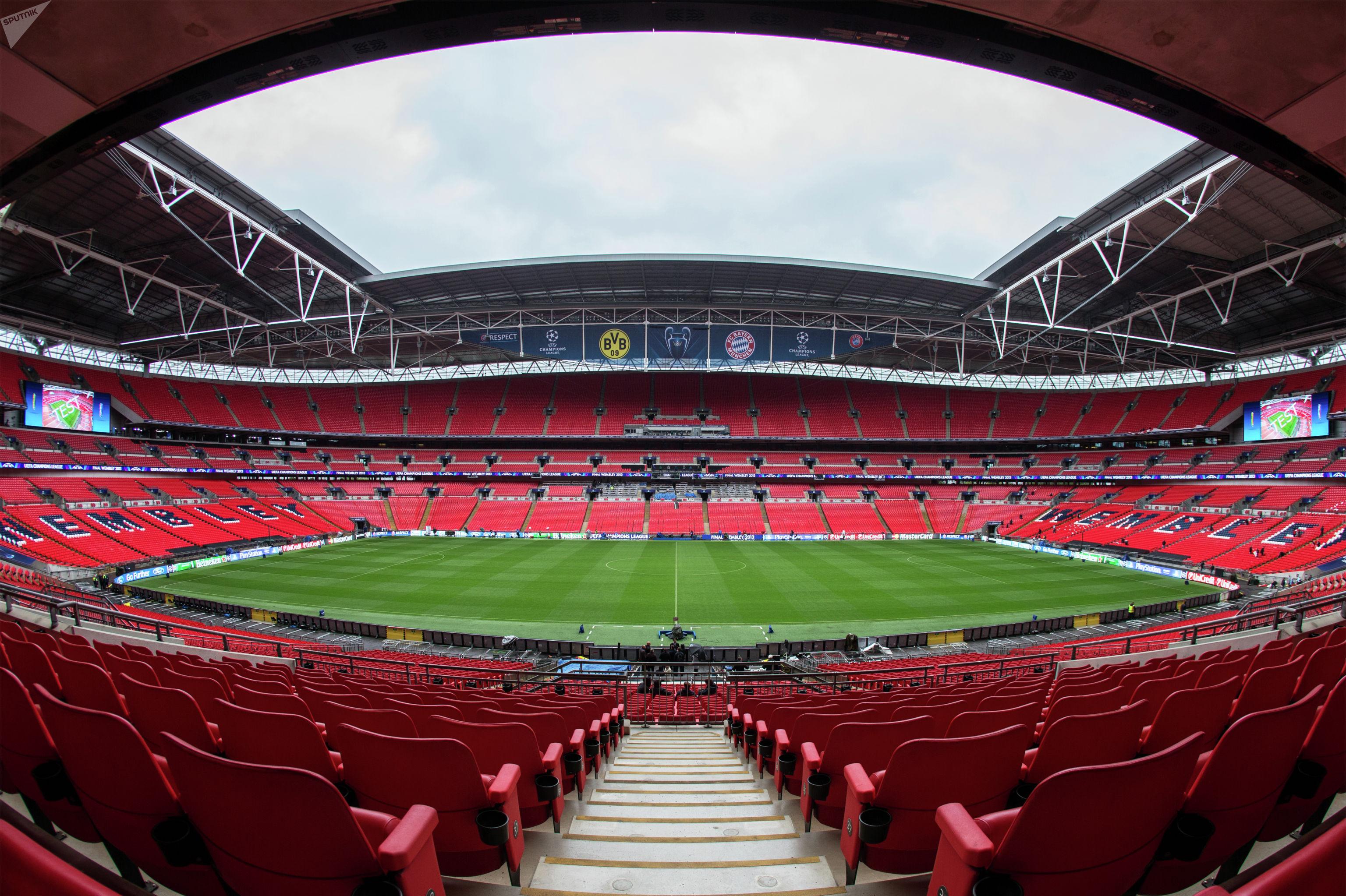 Стадион Уэмбли в Лондоне
