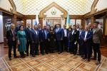 Казахстанские ветераны войны в Афганистане, получившие свои заслуженные награды