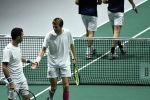 Казахстанские теннисисты Михаил Кукушкин и Александр Бублик