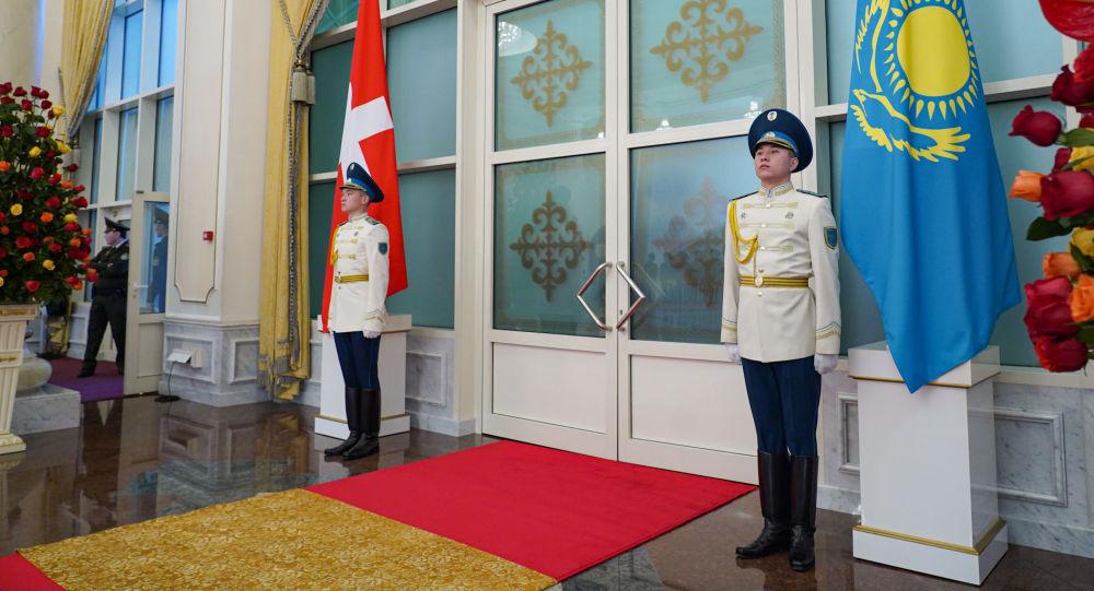 Перед встречей президента Швейцарии Ули Маурера по приглашению главы государства Касым-Жомарта Токаева в Акорде