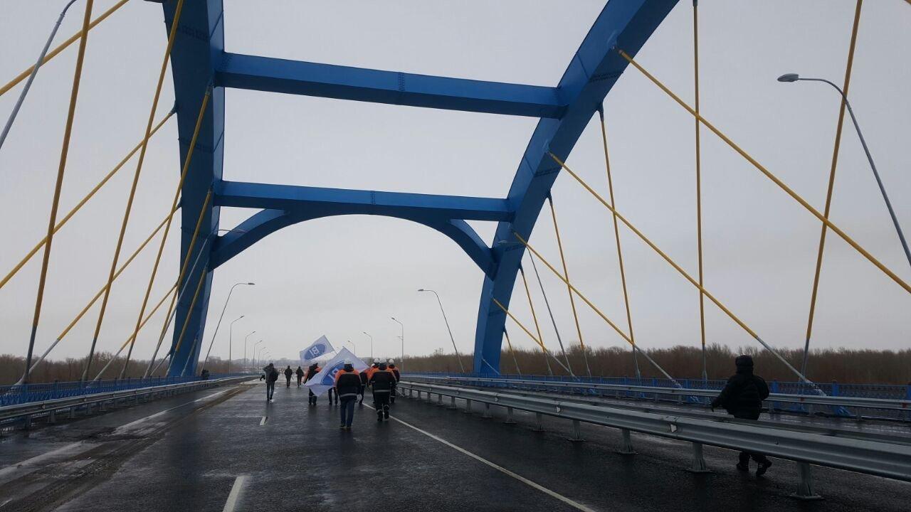 ВКазахстане открыли крупнейший вЦентральной Азии мост через Иртыш