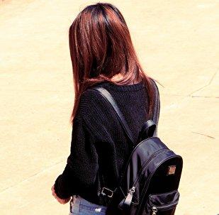 Студентка, девушка