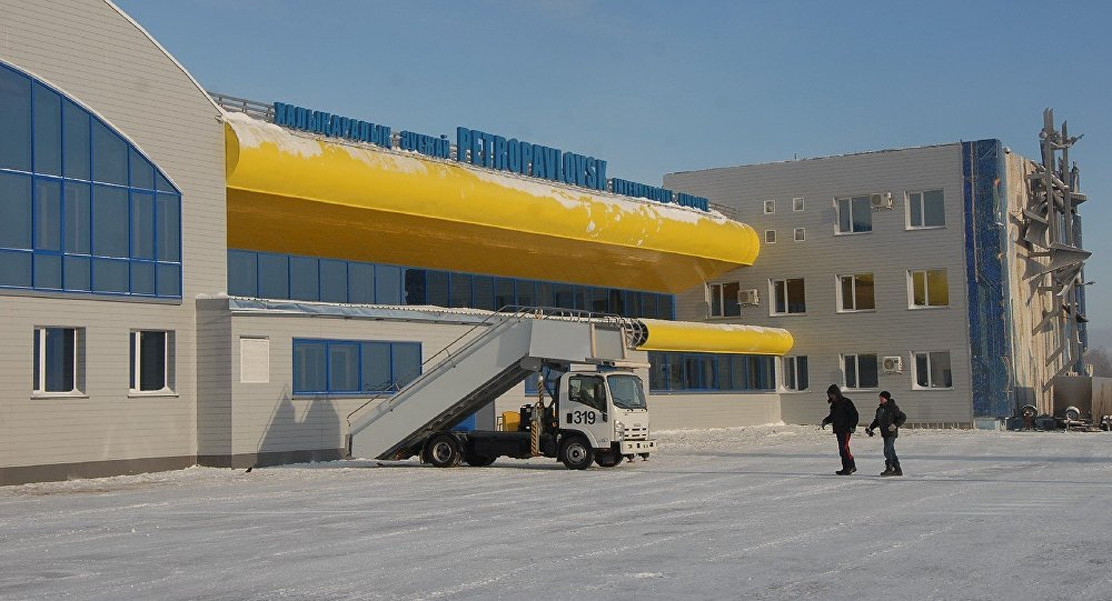 Аэропорт в Петропавловске