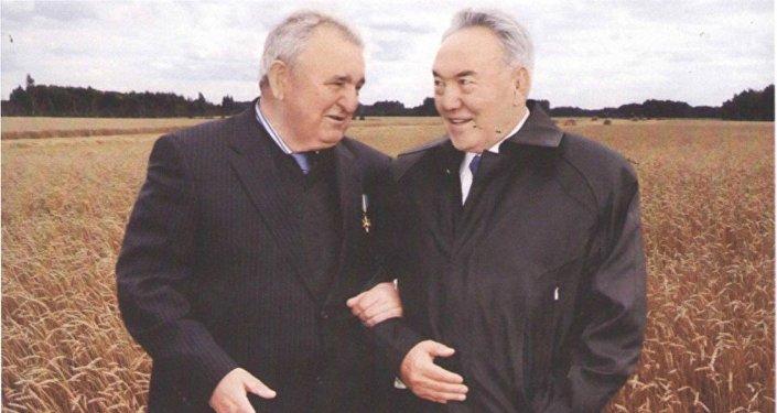 Геннадий Зенченко и Нурсултан Назарбаев