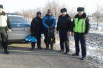 Граждане Узбекистана, спасенные казахстанскими полицейскими