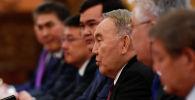 Первый президент Казахстана Нурсултан Назарбаев