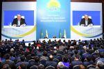 Нурсултан Назарбаев встретился с представителями региональных филиалов партии Nur Otan, архивное фото