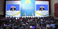 Нурсултан Назарбаев встретился с представителями региональных филиалов партии Nur Otan