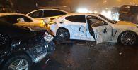 Пять машин столкнулись на ул. Сатпаева