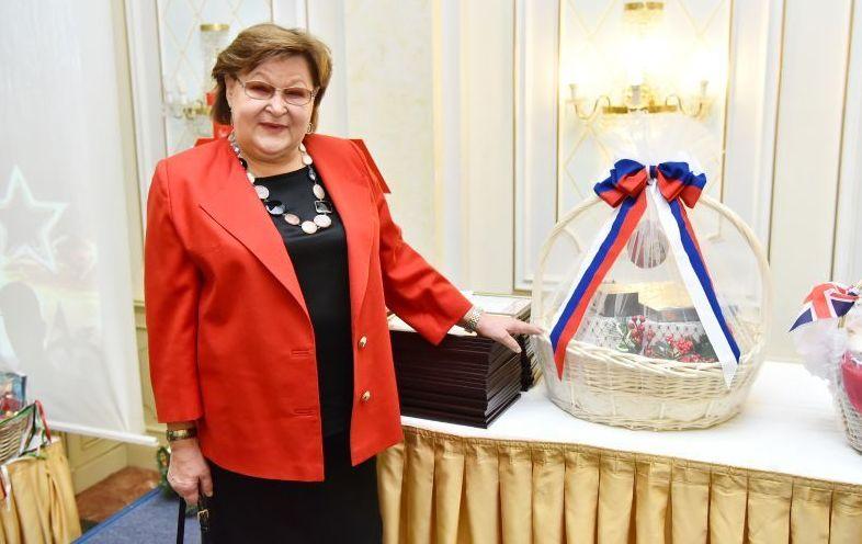 Супруга посла Российской Федерации в Казахстане Елена Бородавкина