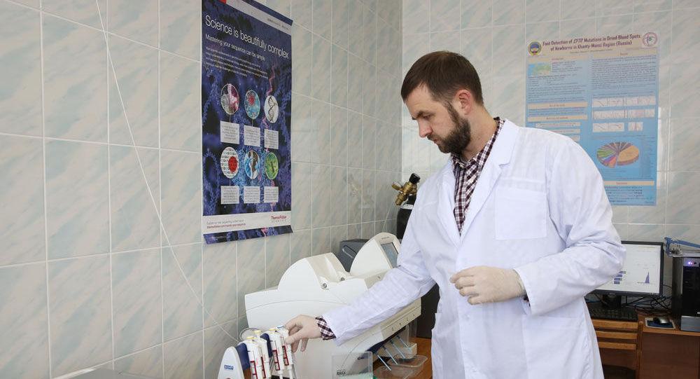Сургут мемлекеттік университеті медицина институты ғылыми білім беру орталығының ғылыми қызметкері Максим Донников