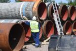 Газ құбырының құрылысы