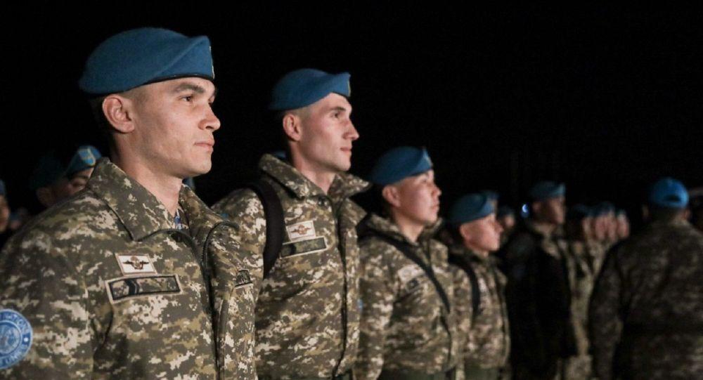 Третья миротворческая рота Казахстана прибыла в Ливан