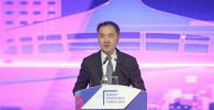Аким Алматы Бакытжан Сагинтаев на Алматинском инвестиционном форуме